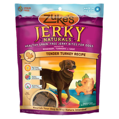 Zuke's® Jerky Naturals® Tender Turkey Dog Treats 6 oz. I001464