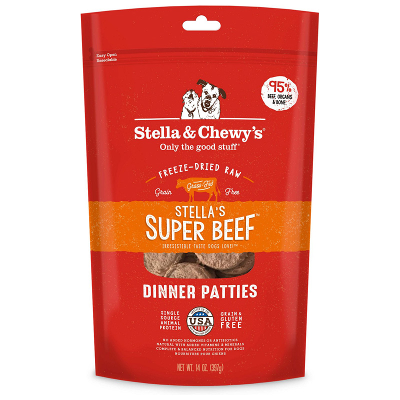 Stella & Chewy's® Stella's Super Beef™ Dinner for Dogs Freeze-Dried I001465b