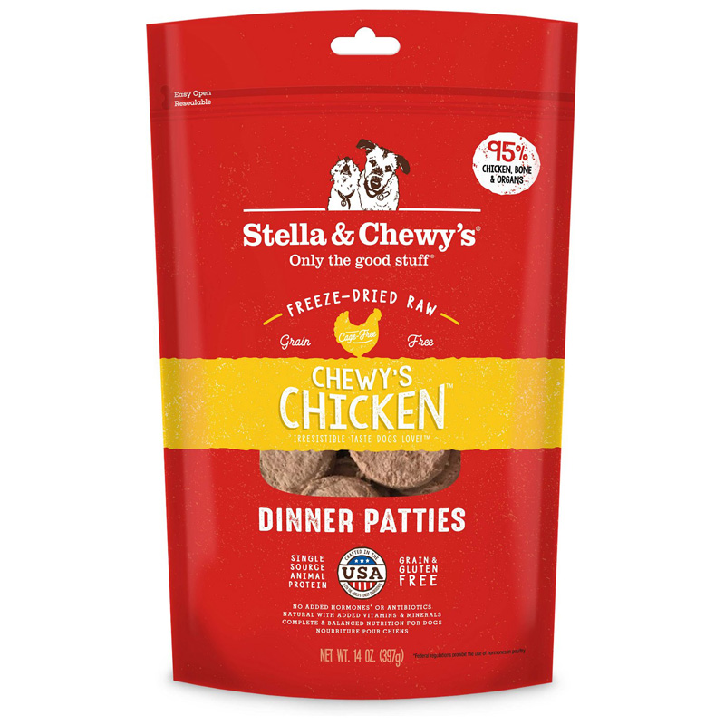 Stella & Chewy's® Chewy's Chicken™ Dinner for Dogs Freeze-Dried I001467b