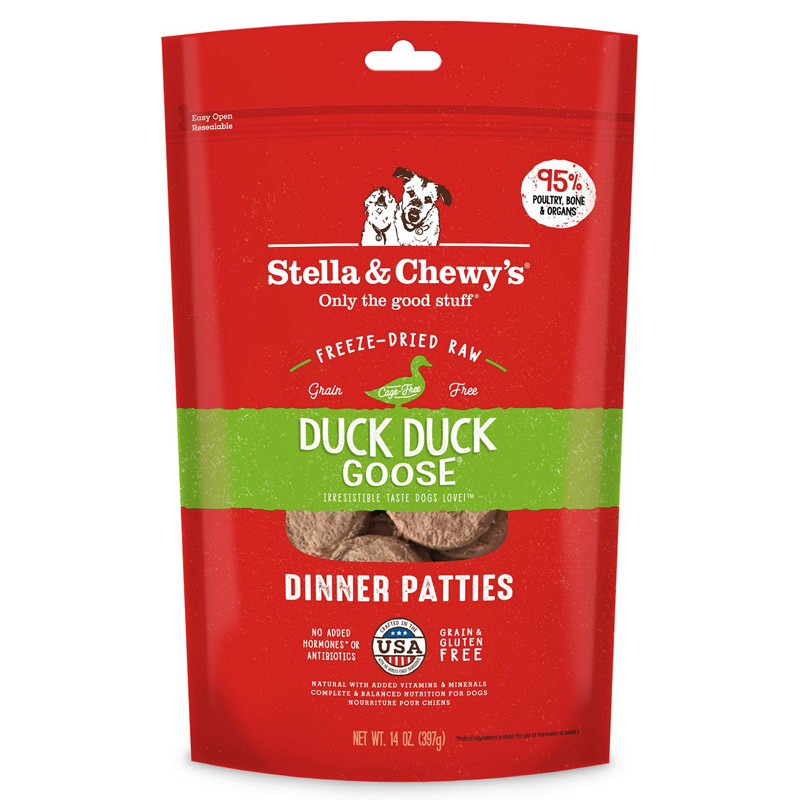 Stella & Chewy's® Duck Duck Goose® Dinner for Dogs Freeze-Dried I001472b
