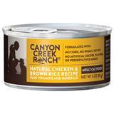 Canyon Creek Ranch® Natural Chicken & Brown Rice Adult Can  Cat Food 3oz. I001495