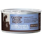 Canyon Creek Ranch® Natural Salmon & Brown Rice Recipe Adult Can Cat Food 3oz. I001497