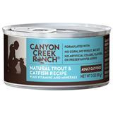 Canyon Creek Ranch® Natural Trout & Catfish Recipe Can Adult Cat Food 3oz. I001498