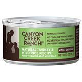Canyon Creek Ranch® Natural Turkey & Wild Rice Recipe Can Cat Food 3oz. I001499