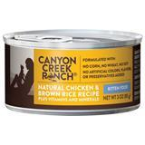 Canyon Creek Ranch® Natural Chicken & Brown Rice Can Kitten Food 3 oz. I001500