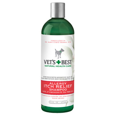 Vet's + Best™ Allergy Shampoo for Dogs I001565