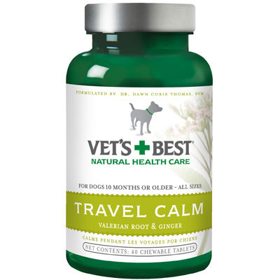 Vet's + Best™ Travel Calm Tablets 40 count I001566