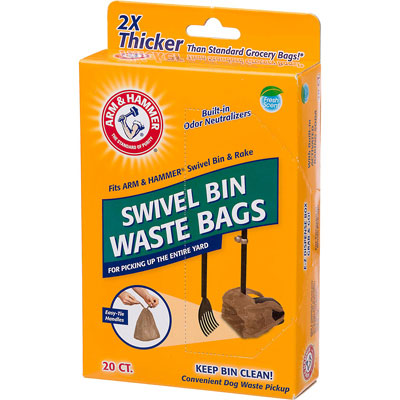 Arm & Hammer Fresh Scent Swivel Bin Waste Bags I001614