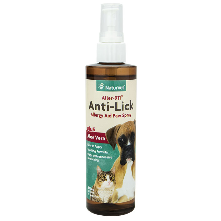 NaturVet® Aller-911™ Anti-Lick Paw Spray 8 oz. I001633