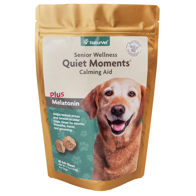 NaturVet® Senior Quiet Moments Calming Aids Soft Chew, 65 ct. I001641