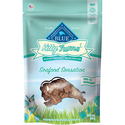 Blue Buffalo BLUE Kitty Yums™ Seafood Sensation 2 oz. I001654