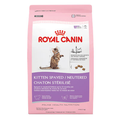 Royal Canin® Kitten Spayed/Neutered Food 2.5 lbs. I001787