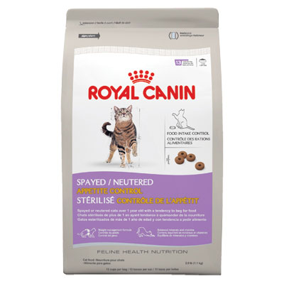 Royal Canin® Spayed/Neutered Appetite Control Cat Food I001788