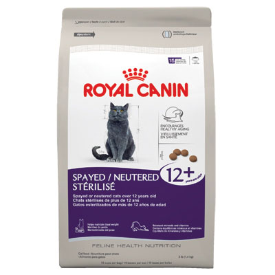 Royal Canin® Spayed/Neutered 12+ Senior Cat Food 2.5 lbs. I001790