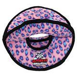 VIP Tuffy® Ultimate 4WayRing Pink Leopard Dog Toy I001875