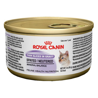 Royal Canin® Spayed/Neutered Adult Wet Cat Food 3 oz. I001995