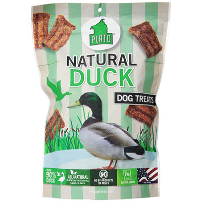Plato® Original Meat Treats Natural Duck Strips I002072