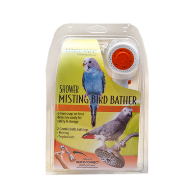 Rinse Ace® Shower Misting Bird Bather I002158