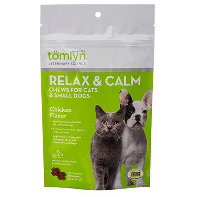 Tomlyn™ Relax & Calm for Cats Chews, 60 ct. I002195