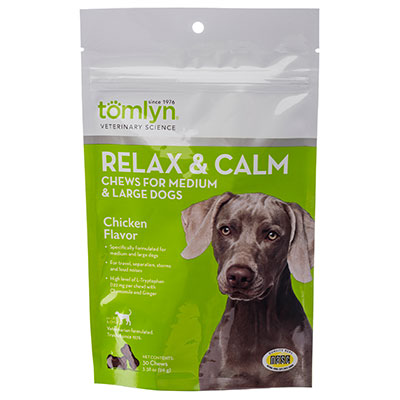 Tomlyn™ Relax & Calm for Dogs Chews, 45 ct. I002196