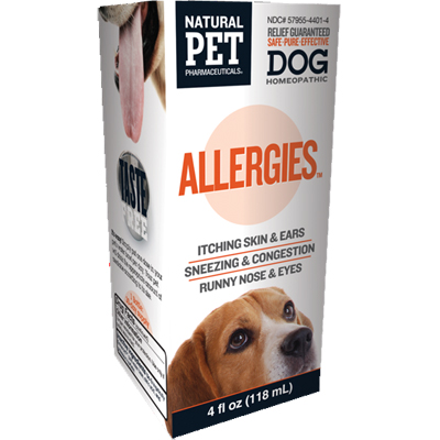 Natural Pet Pharmaceuticals® Allergies™ For Canines 4 oz. I002210