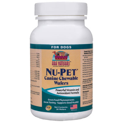 Ark Naturals® Nu-Pet® Canine Chewable Vitamin Wafers I002378b