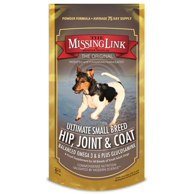 The Missing  Link® Ultimate Small Breed Hip, Joint & Coat Formula 8 oz. I002398