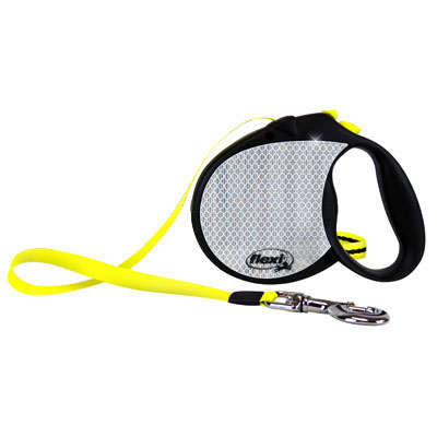 Flexi® Reflective Neon Retractable Leash I002400b