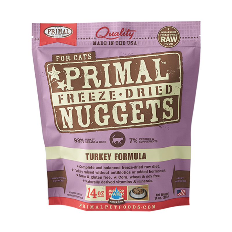 Primal™ Freeze-Dried Turkey Formula for Cats I002460
