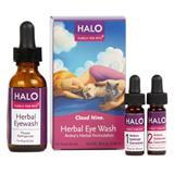 Halo® Cloud Nine® Herbal Eye Wash Kit, .25 fl oz. I002661
