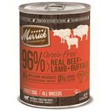 Merrick® Grain Free 96% Real Beef + Lamb + Buffalo 13.2 oz. I002774