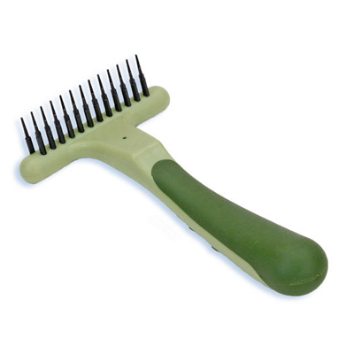Safari® Double Row Undercoat Rake for Dogs I002798