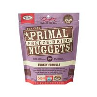 5.5oz Primal FD Turkey Freeze Dried Cat Food I002835e