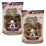 Loving Pets It's Purely Natural™ Bone Shaped Jerky Treats 4oz I002862b