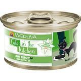 WERUVA Cats in the Kitchen Lamb Burgini - Lamb Recipe Au Jus Canned Cat Food 3.2 oz I003054