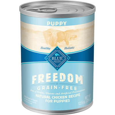 Blue Buffalo BLUE™ Freedom™ Grain-Free Chicken Recipe Can Puppy Food, 12.5 oz. I003058