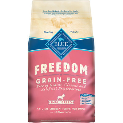 Blue Buffalo BLUE™ Freedom Grain-Free Small Breed Chicken Recipe Dog Food, 11 lbs. I003070