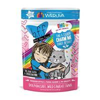 WERUVA b.f.f. Best Feline Friend Tuna & Chicken Charm Me Recipe in Gravy Pouch 3 oz I003071