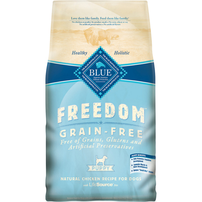 Blue Buffalo BLUE™ Freedom Grain-Free Chicken Recipe for Puppies, 4 lbs. I003072