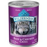Blue Buffalo BLUE™ Wilderness™ Beef & Chicken Grill Dog Food, 12.5 oz. I003082
