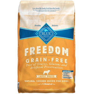 Blue Buffalo BLUE™ Freedom Grain-Free Chicken Recipe for Large Breed Dogs, 24 lbs. I003087
