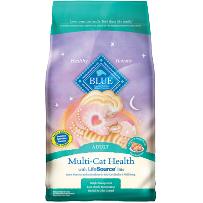 Blue Buffalo BLUE™ Multi-Cat Health Chicken & Turkey Recipe Cat Food 15 lbs. I003328