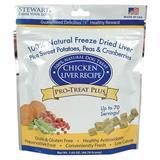 Stewart® Pro-Treat Plus® Chicken Liver Recipe Freeze Dried Treats for Dogs, 1.65 oz. I003186b