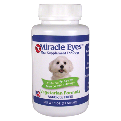 Miracle Eyes™ Oral Supplement for Dogs, Vegetarian Formula I003189b