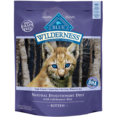 Blue Buffalo BLUE™ Wilderness™ Chicken Recipe for Kittens, 5 lbs. I003319