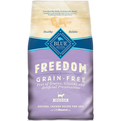 Blue Buffalo BLUE™ Freedom Grain-Free Chicken Recipe for Indoor Cats I003324b