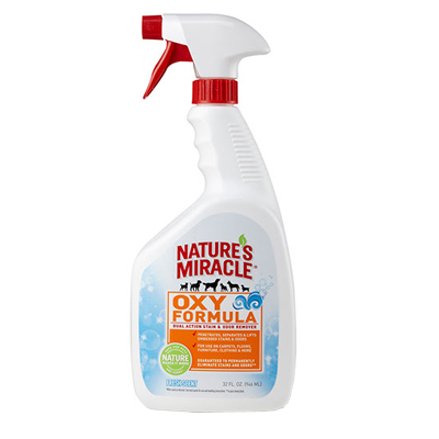 Nature's Miracle Oxy Formula Dual Action Stain & Odor Remover 32 oz I003337