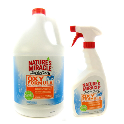 Nature's Miracle® Just for Cats™ Oxy Formula Stain & Odor Remover I003339b