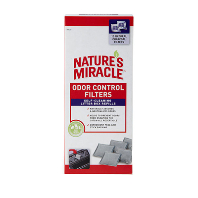 Nature's Miracle Automated Litter Boxes Filter Pack, 10 ct. I003342
