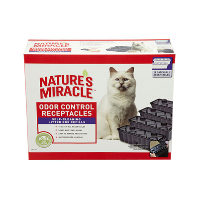 Nature's Miracle Automated Litter Boxes Catch-All Receptacles 18 ct. I003343